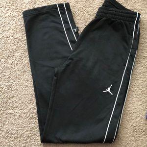 Boys black Jordan sweatpants